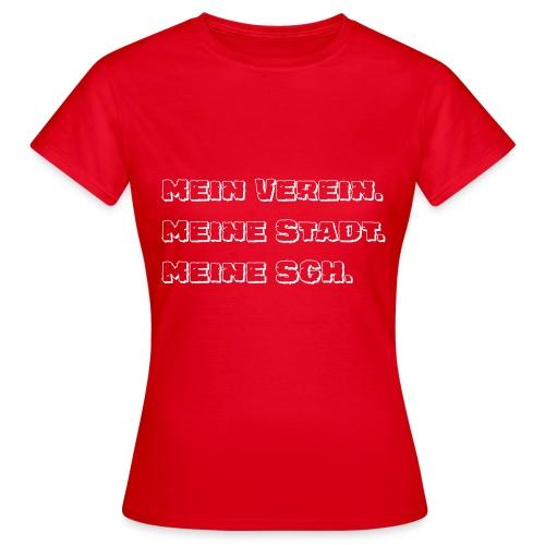 Mein Stadt, MeinVerein - Frauen T-Shirt