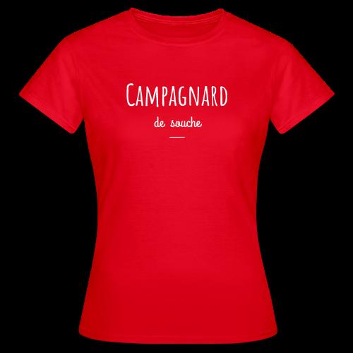 campagnard 3 - T-shirt Femme