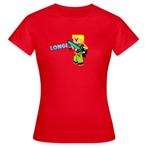 Kämpfender Longi Shirts - Frauen T-Shirt