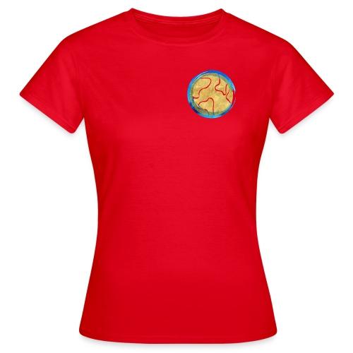 Weltkugel Hebammen - Frauen T-Shirt