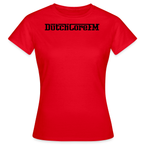 DutchCoreFM Logo Black - Women's T-Shirt