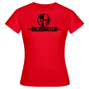KickSwitch Logo with text - Women's T-Shirt