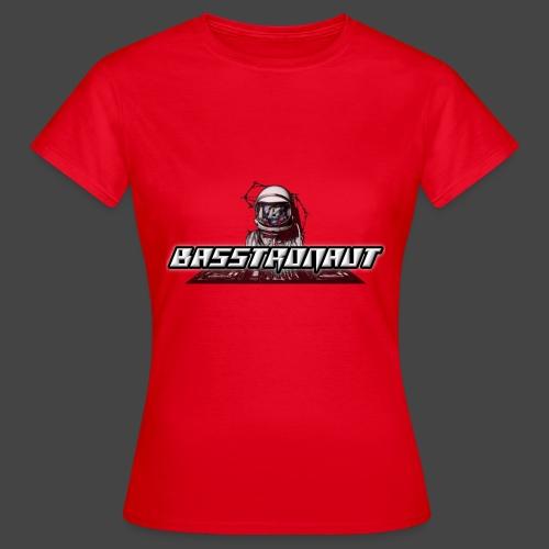 Bassphemie - Basstronaut Logo - Frauen T-Shirt