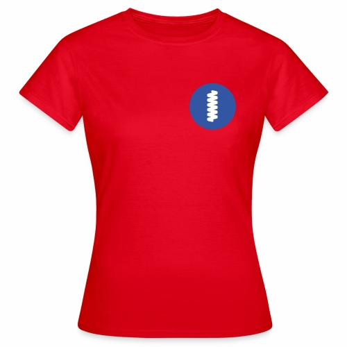 logomark in circular blue - Women's T-Shirt