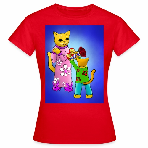 Mothers Day Cats - Women's T-Shirt