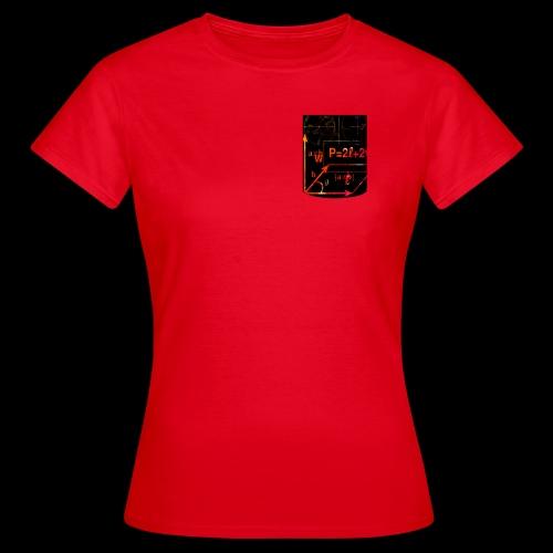 Mathe Physik Wissenschaft Lehrer Pocket Design - Frauen T-Shirt