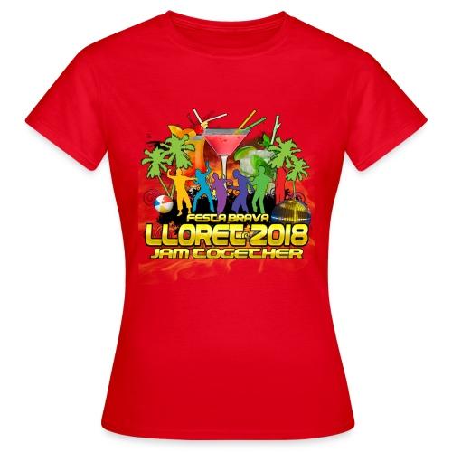 Lloret De Mar 2018 - Frauen T-Shirt
