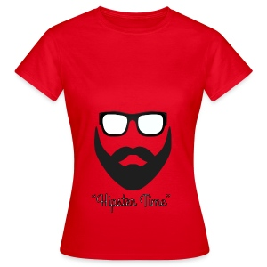 Hipster time - Camiseta mujer