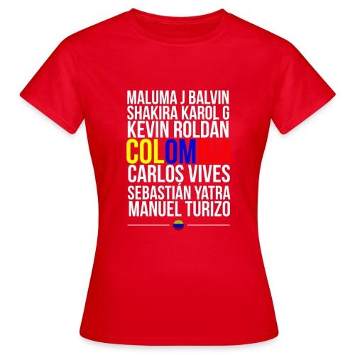 Reggaeton Shirt Kolumbien - Frauen T-Shirt