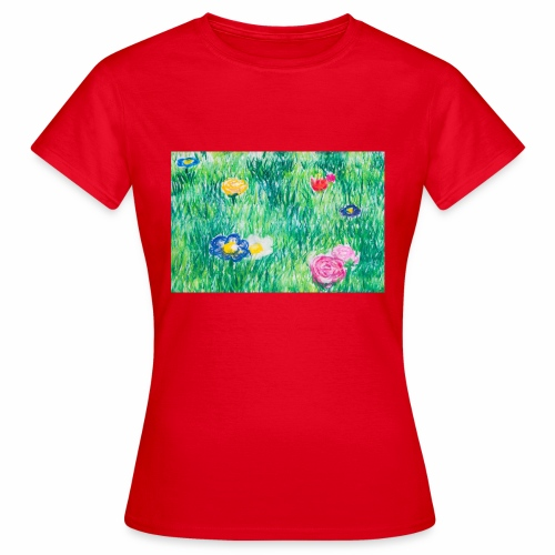 Blumenwiese - Frauen T-Shirt