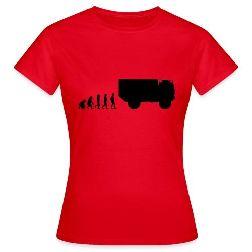 Evolution 90-16 - Frauen T-Shirt