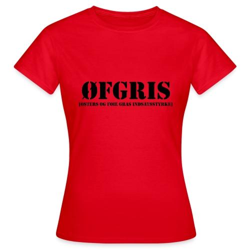 ØFGRIS - Bestsellere - Dame-T-shirt