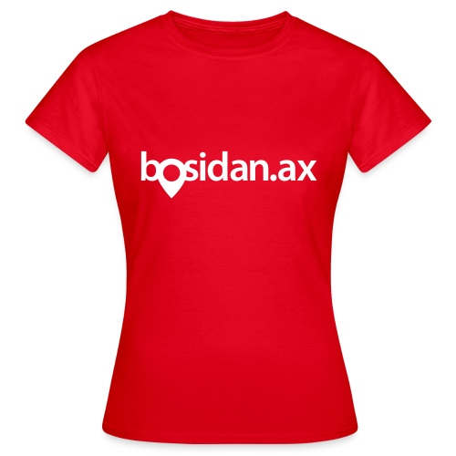 Bosidan.ax officiella logotypen - T-shirt dam