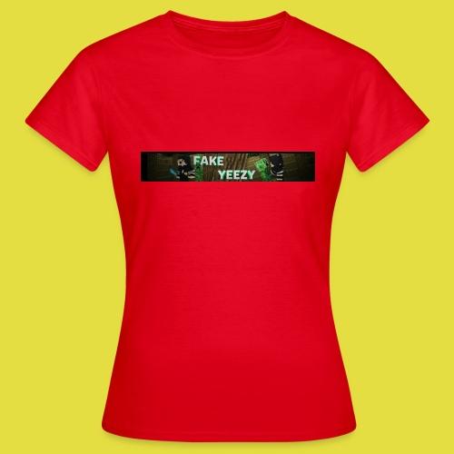 FakeYeezy Merch Kollektion 1.0 - Frauen T-Shirt