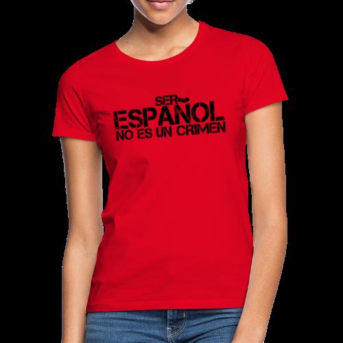 No es un crimen - Camiseta mujer