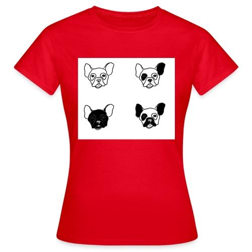 BULLDOGZ - T-shirt dam