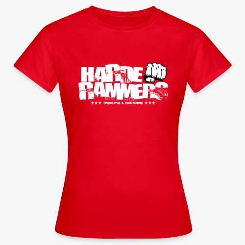 Harde Rammers Wit - Vrouwen T-shirt