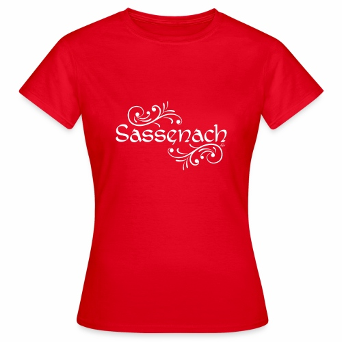 sassenach_weiss - Frauen T-Shirt