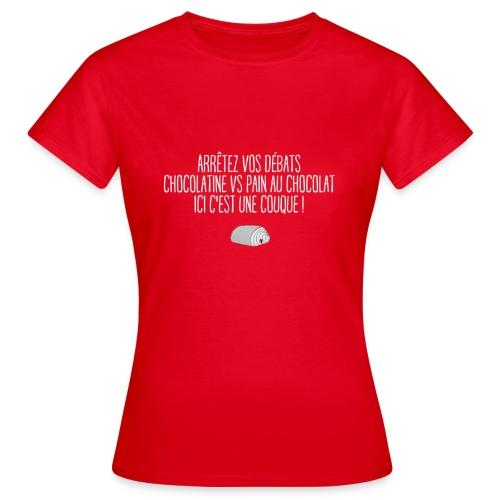 couque au chocolat - T-shirt Femme