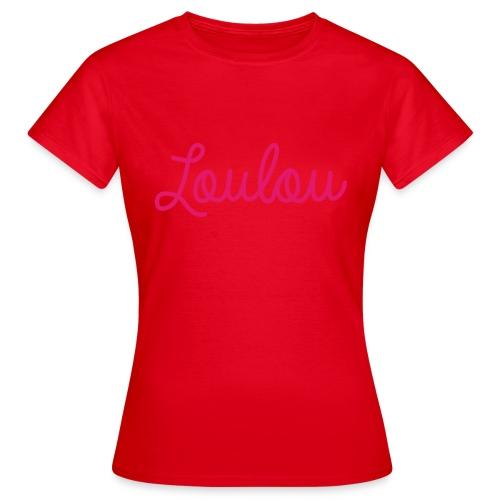 Logo-Roze - Vrouwen T-shirt