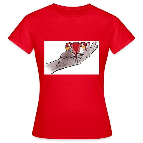 Livmoderbärare - T-shirt dam