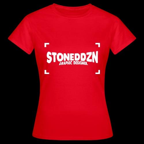 Da ist das YouTube Logo von StonedDzn - Frauen T-Shirt