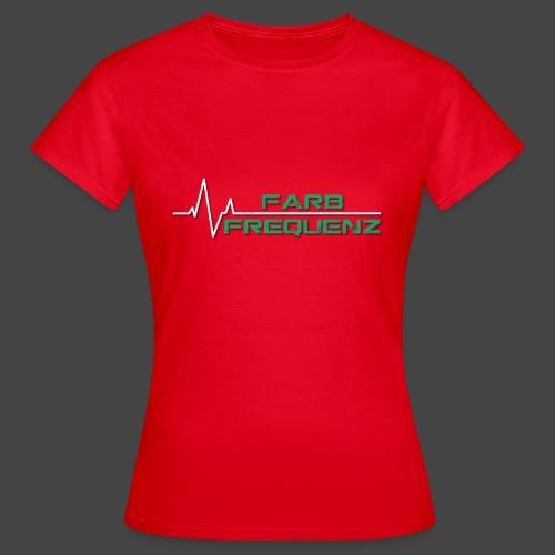 FarbFrequenz - Logo - Frauen T-Shirt