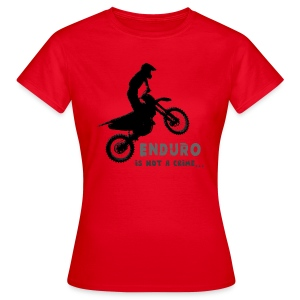 Enduro is not a crime - Camiseta mujer