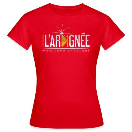 L'Araignée, le logo clair pour fond foncés - T-shirt Femme
