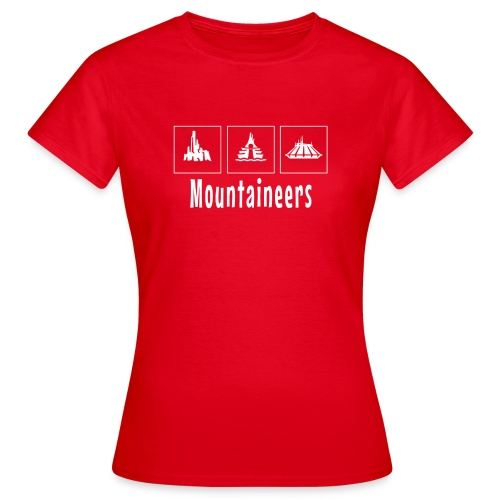 Mountineers - Women's T-Shirt