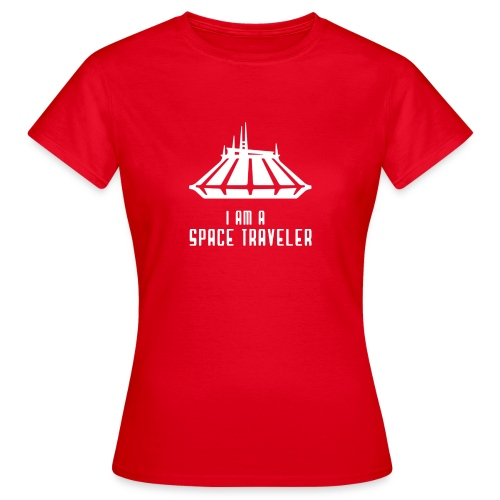 I Am A Space Traveler - Women's T-Shirt