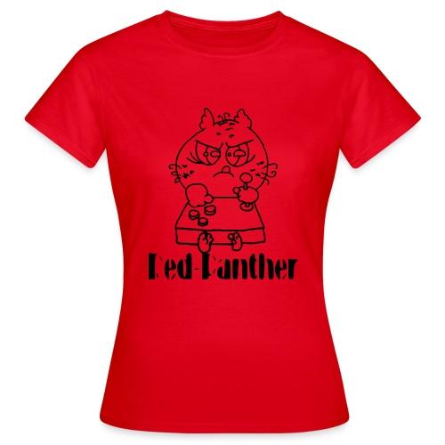 Red-Panther - Frauen T-Shirt