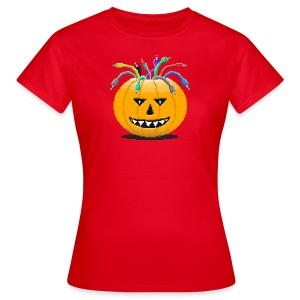 Pumpkin Spiced Patches - Women's T-Shirt