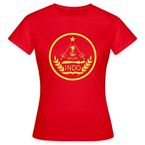 Indo_Melati_GEEL - Vrouwen T-shirt