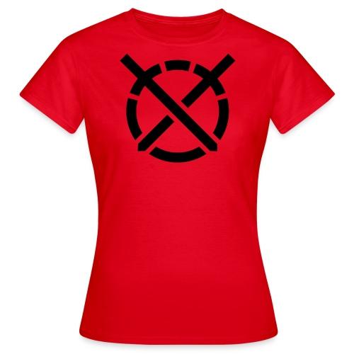 «Arte do Combate» simbolo preto - Camiseta mujer