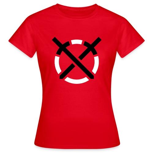 Símbolo «Arte do Combate» sobre amarelo - Camiseta mujer