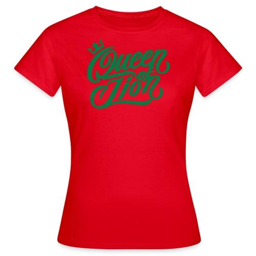 MAD SWAGG queen of LION DESERT/BLK - T-shirt Femme