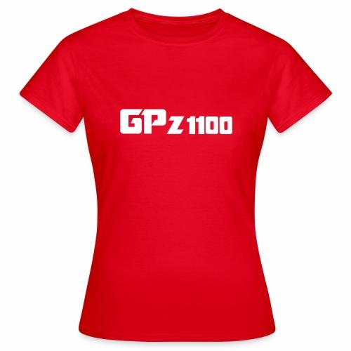 GPz 1100 white - Frauen T-Shirt