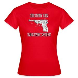 Studentin der Triggernometrie - Frauen T-Shirt