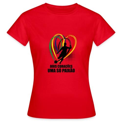 Fußball-Shirt Brasilien - Deutschland - Frauen T-Shirt