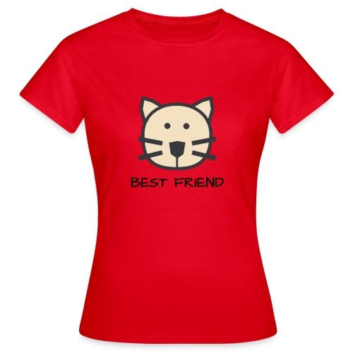 Katzen - Best Friends - Frauen T-Shirt