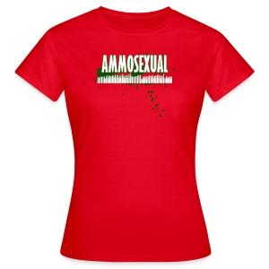 Ammosexual Multi-Caliber (white) - Frauen T-Shirt