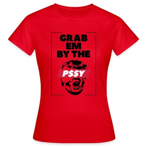 pussy black - Frauen T-Shirt