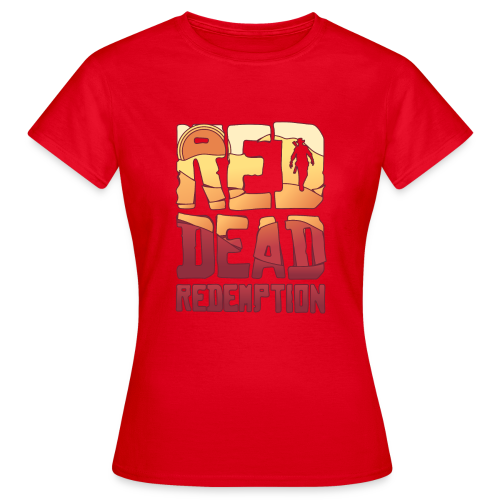 Red dead redemtion Sunset - Camiseta mujer