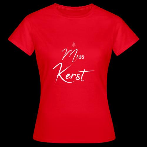 Miss Kerst - Vrouwen T-shirt