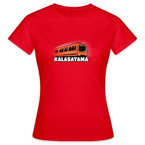 11- METRO KALASATAMA - HELSINKI - LAHJATUOTTEET - Naisten t-paita