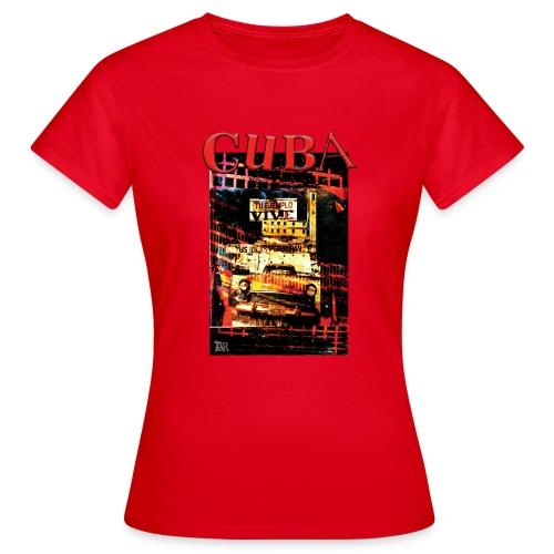 cuba 03 - T-shirt Femme