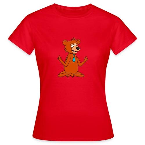 Yoga Bär - Frauen T-Shirt