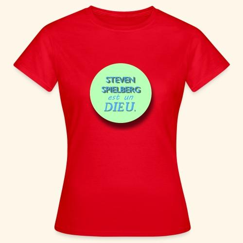Steven Spielberg - Collection Flat Circle - T-shirt Femme