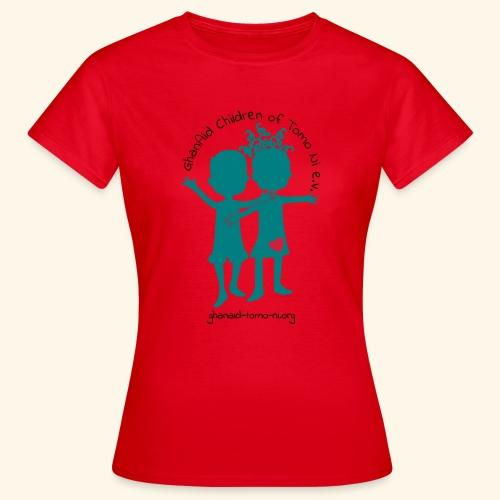GhanAid Logo - Frauen T-Shirt
